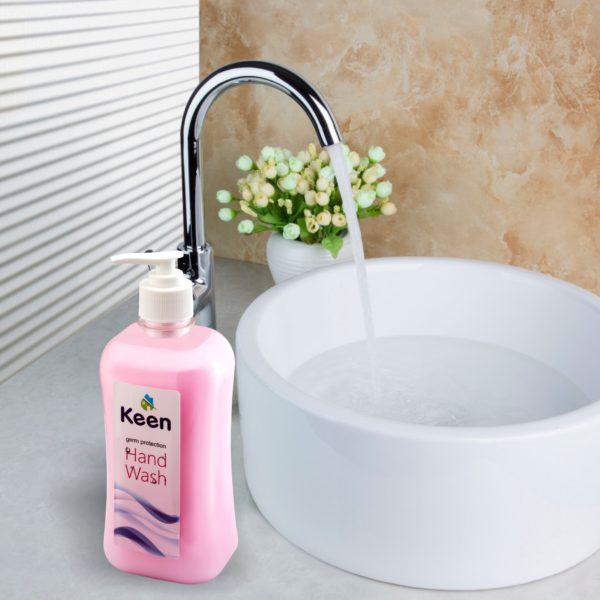 Hand wash application - KEEN BY HICHEM