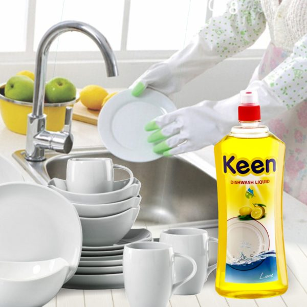 Dish wash application - KEEN BY HICHEM