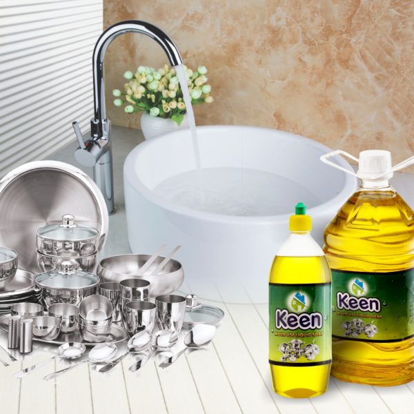 Multi-use Liquid Soap application - KEEN BY HICHEM