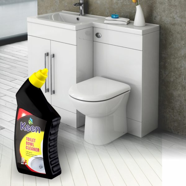 Toilet Cleaner application - KEEN BY HICHEM