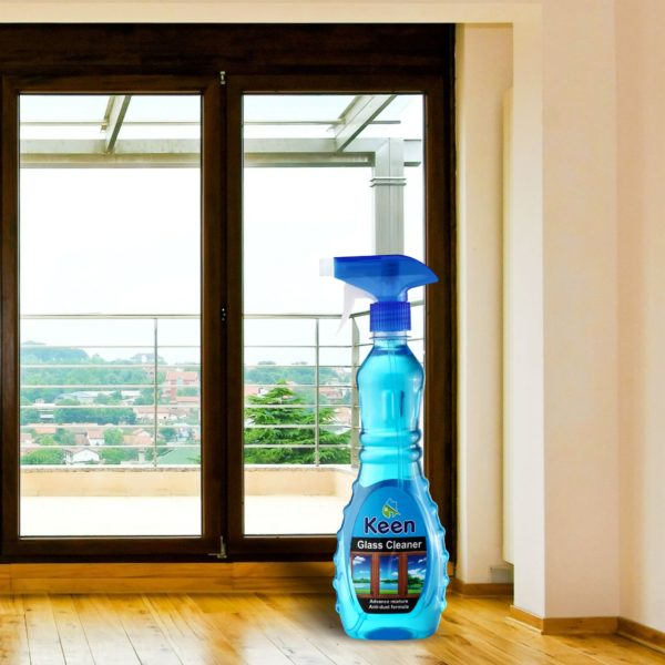 Glass Cleaner Application - KEEN BY HICHEM